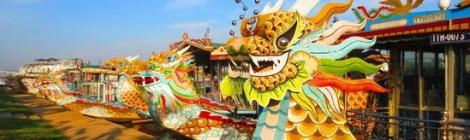 Dragon Boat Trip on Perfume River