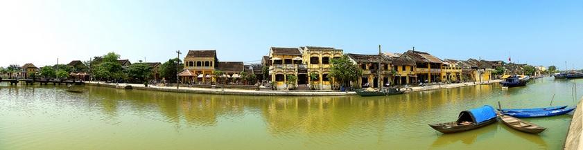 Thu Bon River - Hoian Ancient Town