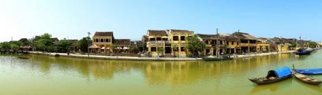 Thu Bon River - Hoian Ancient Town