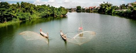 Perfume River, Hue Vietnam