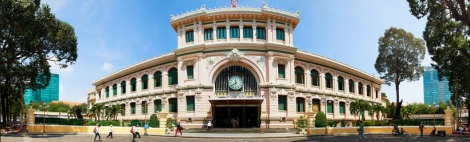 Post office of Ho Chi Minh city