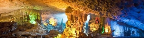 Thien Cung (Heaven Palace) cave