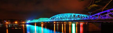 Truong Tien bridge, Hue, Vietnam