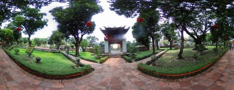 Temple of Literature Panorama
