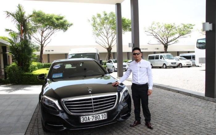 Mercedes Ben 2016 - S550 Vietnam VIP Car