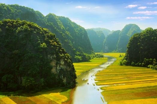 Tam Coc - Halong on land